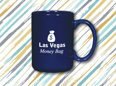 Custom Screen-Printed Mug for Las Vegas, Nevada